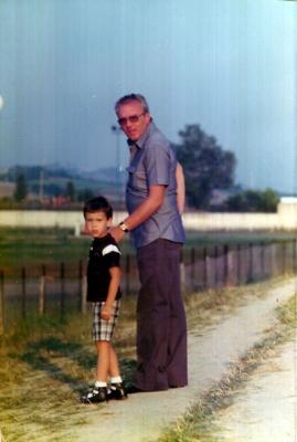 Marco ed il padre Gino