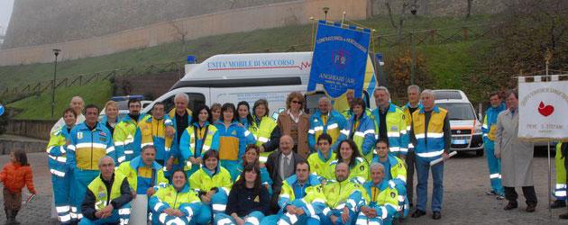 Nuova ambulanza per la Misericordia di Anghiari