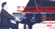 21° Concorso Internazionale Pianistico MARIA GIUBILEI