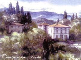 La Fondazione Marco Gennaioli Onlus (acquerello del Maestro Camaiti)