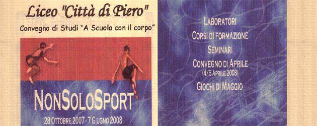 """Progetto """"Non solo sport"""""""